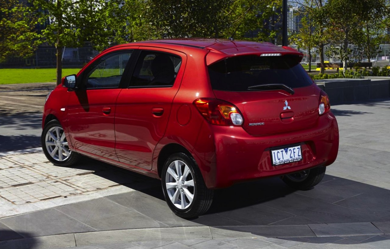 2015 Mitsubishi Mirage Hatch On Sale From $11,490