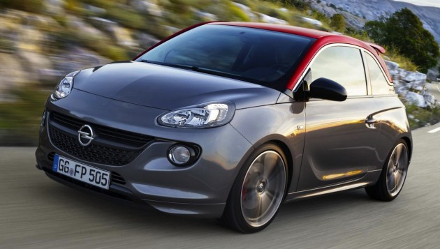 2015 Opel Adam S-grey