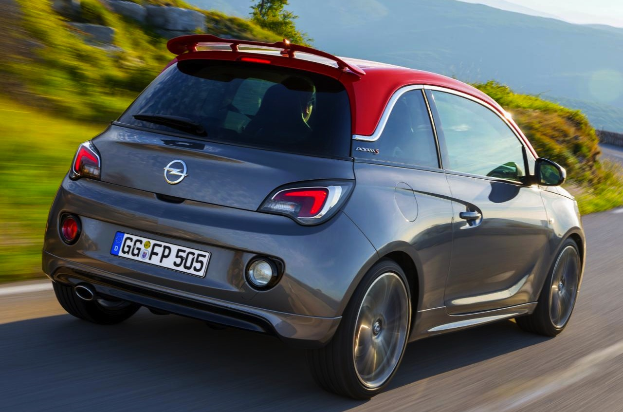 sporty opel adam s production model revealed performancedrive. Black Bedroom Furniture Sets. Home Design Ideas