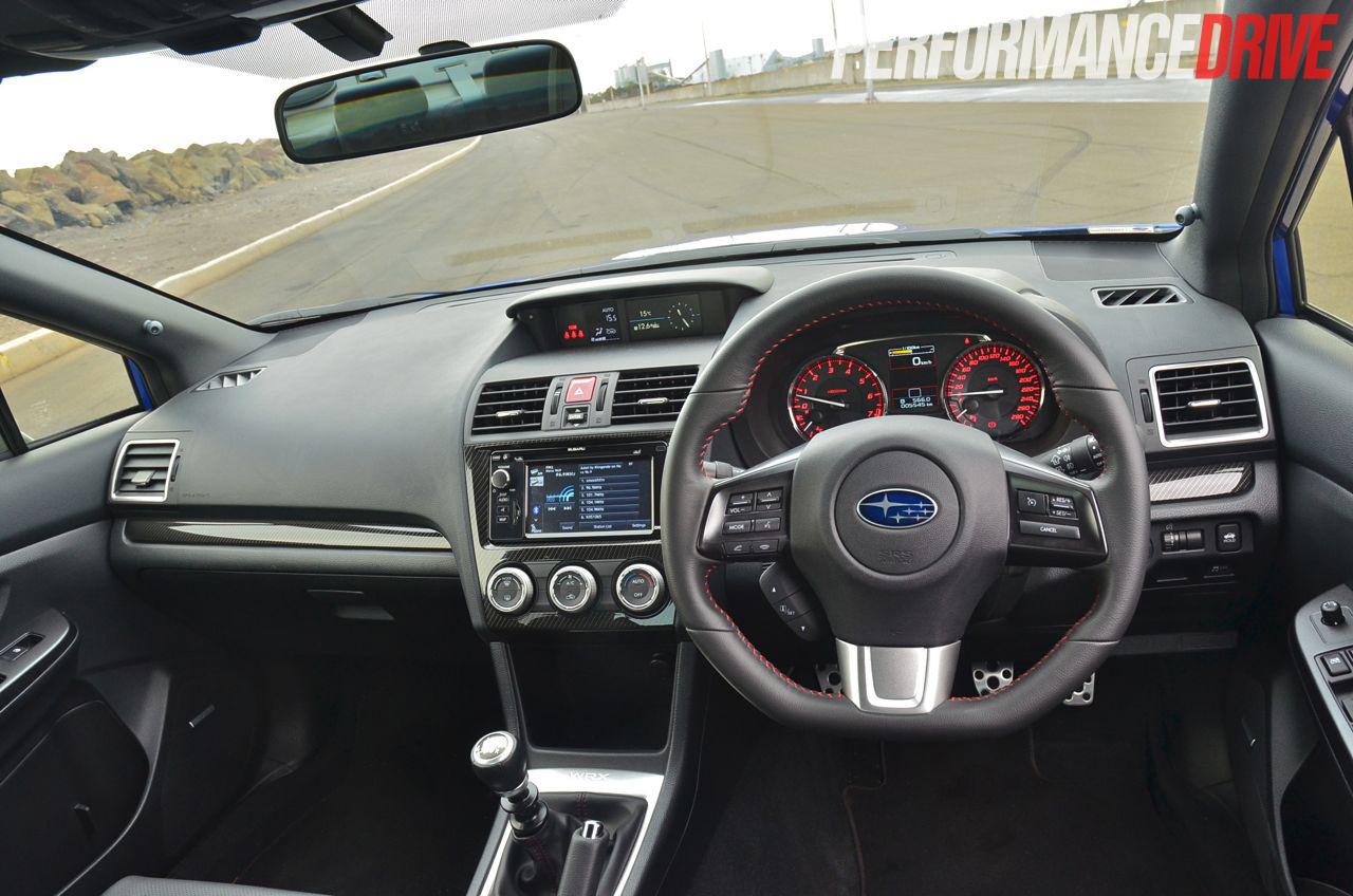 Superior 2015 Subaru WRX Premium Cabin Interior
