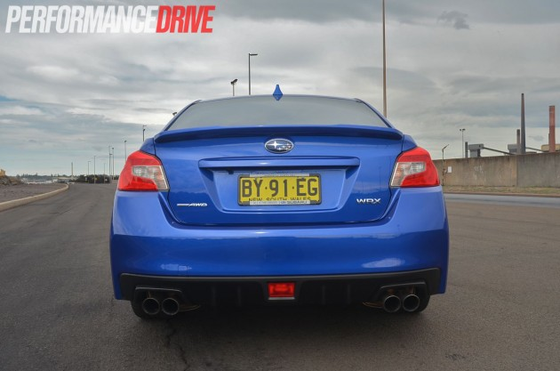 2015 Subaru WRX Premium rear exterior