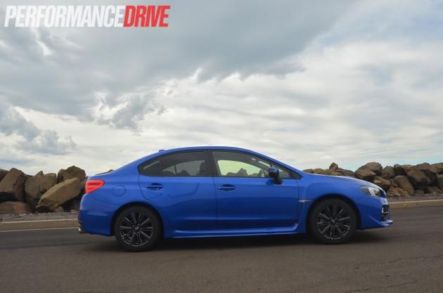 2015 Subaru WRX Premium side exterior