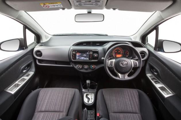 2015 Toyota Yaris SX interior