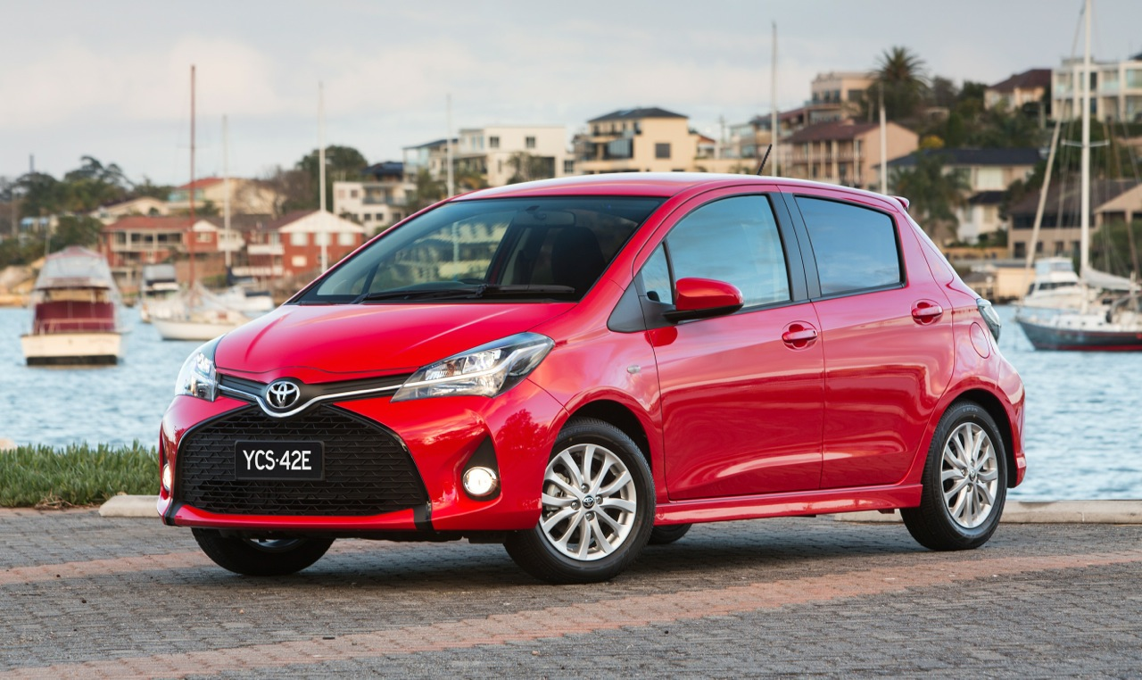 2015 toyota yaris on sale in australia from 15 690. Black Bedroom Furniture Sets. Home Design Ideas