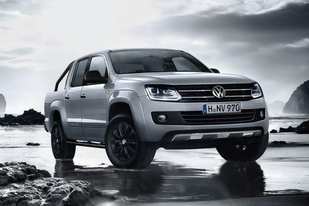 2015 Volkswagen Amarok Dark Label Australia