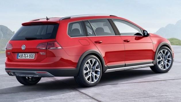 2015 Volkswagen Golf Alltrack 20mm added ride height
