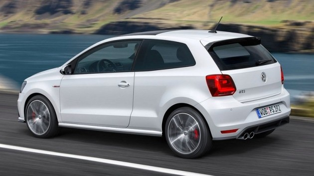 2015 Volkswagen Polo GTI-rear