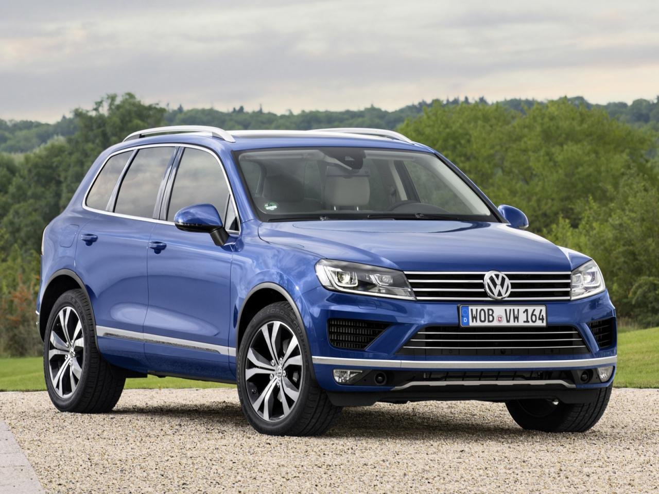 2015 volkswagen touareg v6 tdi gets mild power boost performancedrive. Black Bedroom Furniture Sets. Home Design Ideas