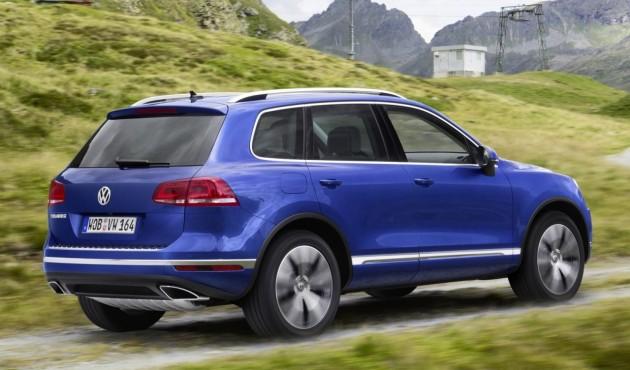 2015 Volkswagen Touareg rear
