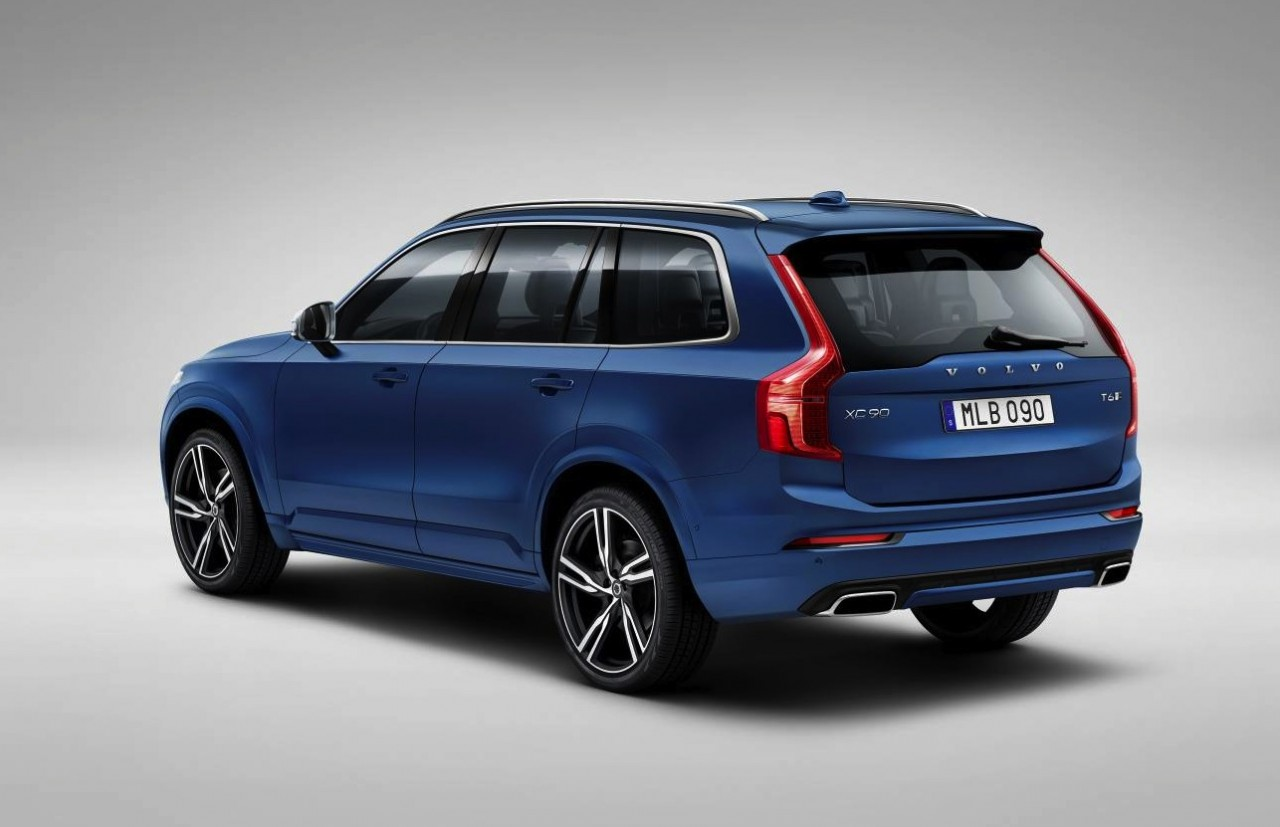 2015 volvo xc90 r design revealed performancedrive. Black Bedroom Furniture Sets. Home Design Ideas