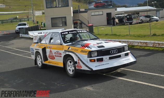Audi S1 quattro Group B rally-Australia