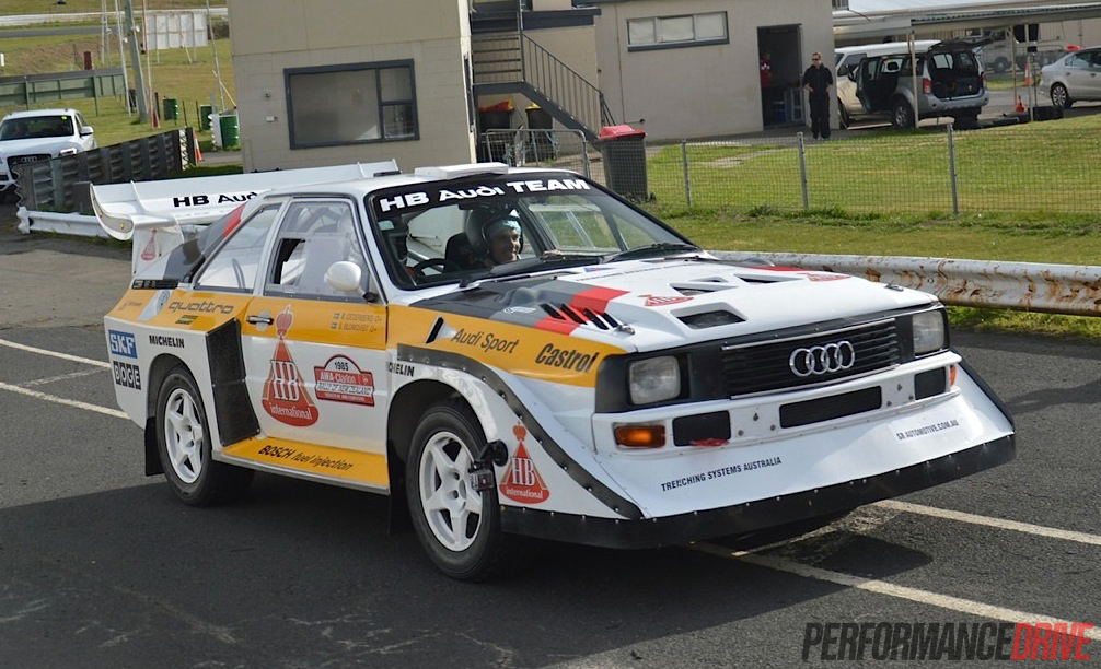 Video Audi Sport Quattro Group B Rally Car Experience