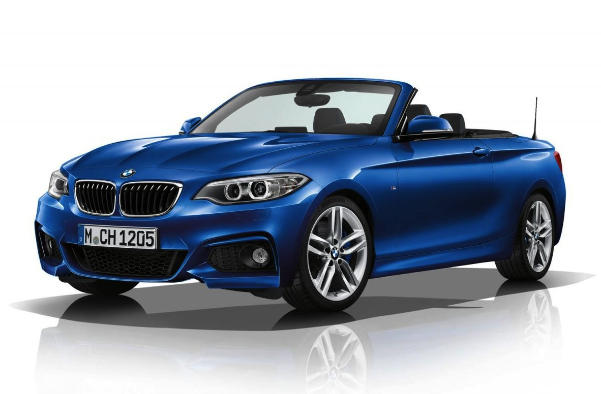 bmw 2 series convertible m sport kit revealed performancedrive. Black Bedroom Furniture Sets. Home Design Ideas