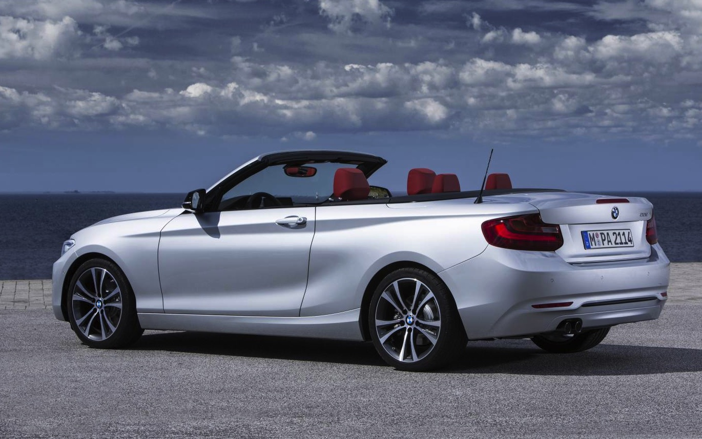 Bmw 2 Series Convertible Amp M235i Convertible Revealed