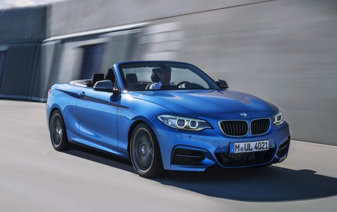 bmw 2 series convertible m235i convertible revealed. Black Bedroom Furniture Sets. Home Design Ideas