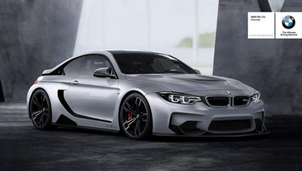 BMW M4 CSL render r82