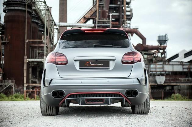 CT Exclusive Porsche Cayenne widebody kit rear