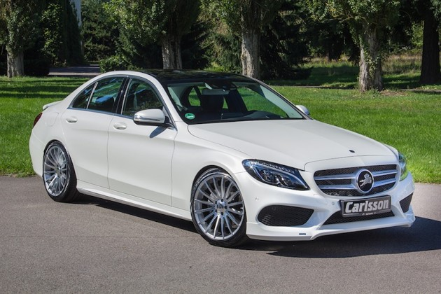 Carlsson W205 C–Class AMG Sport front side