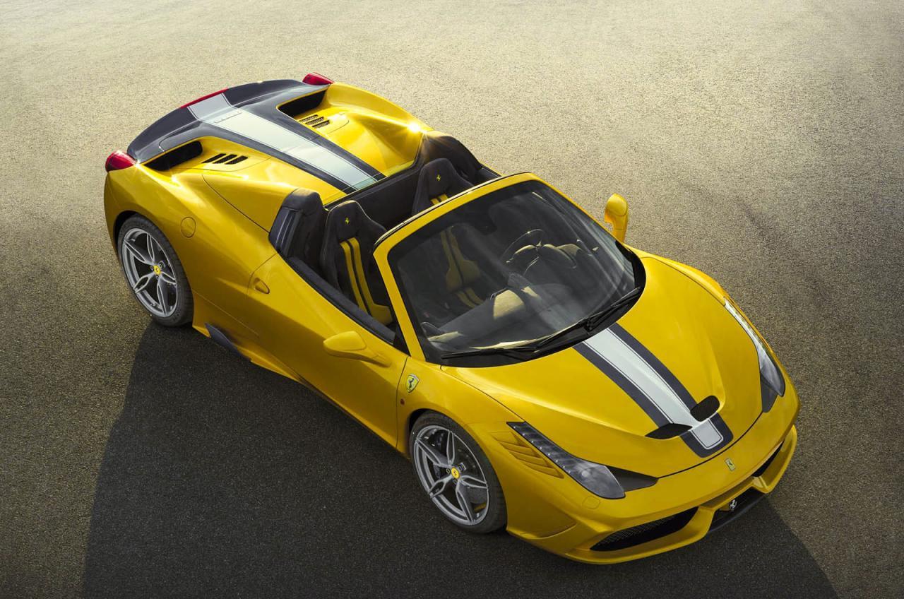 ferrari 458 speciale aperta revealed fastest spider ever performancedrive. Black Bedroom Furniture Sets. Home Design Ideas