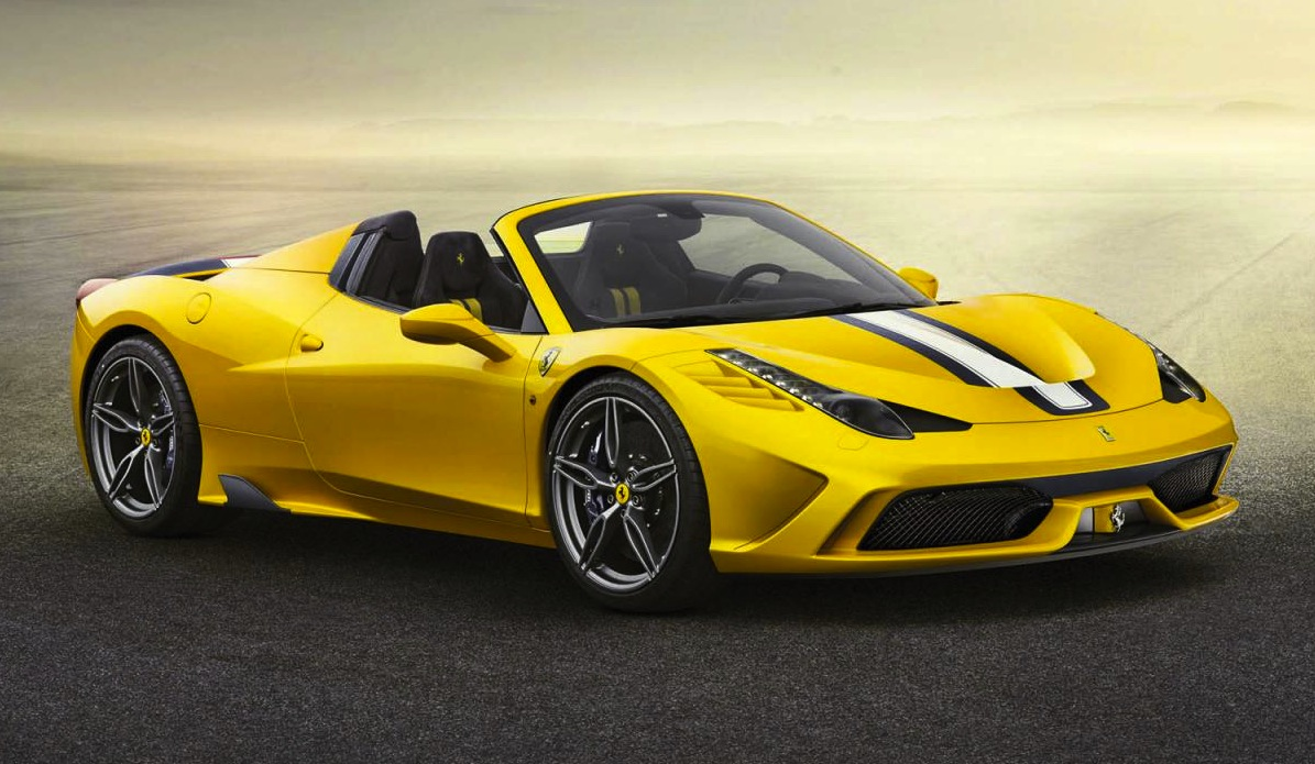 Ferrari 458 Speciale Aperta revealed, fastest spider ever