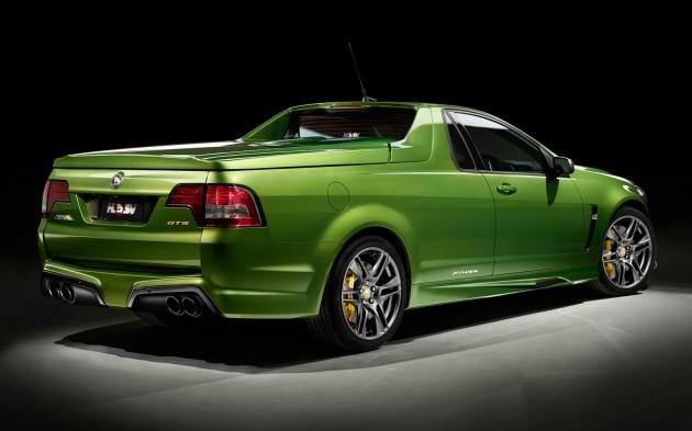 HSV GTS Maloo-rear
