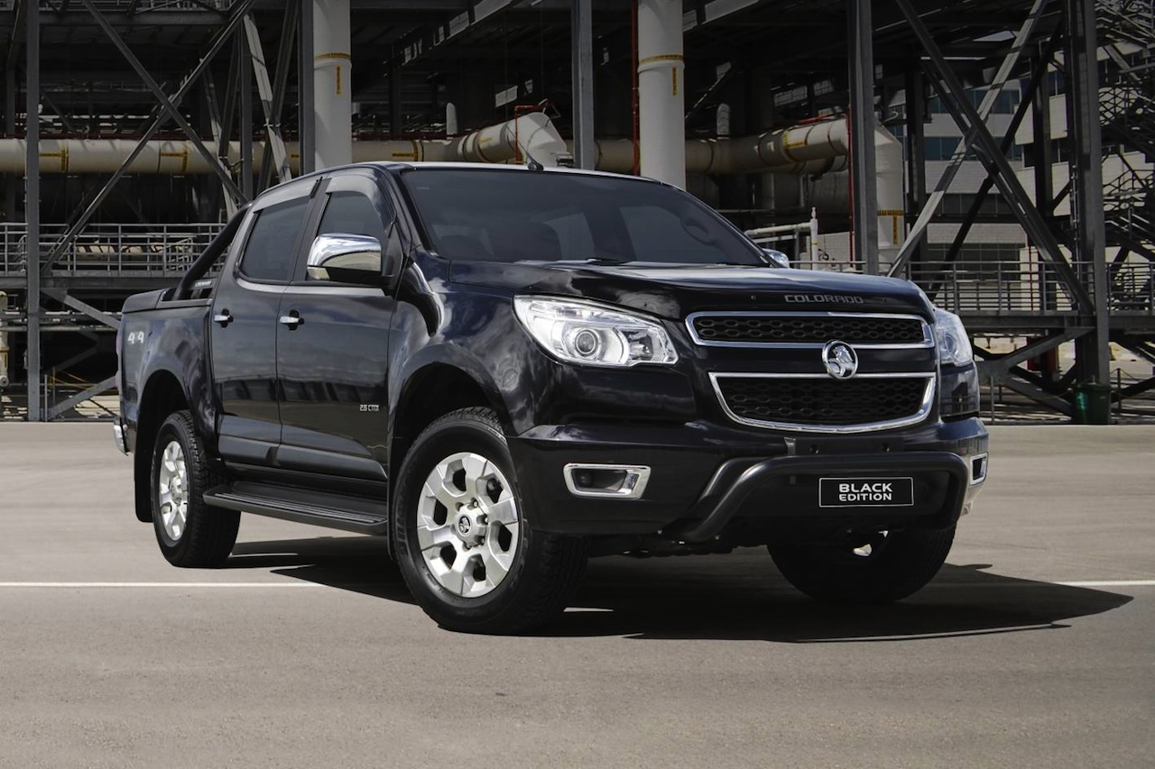 Holden Colorado 'Black Edition' accessory pack gets price cut