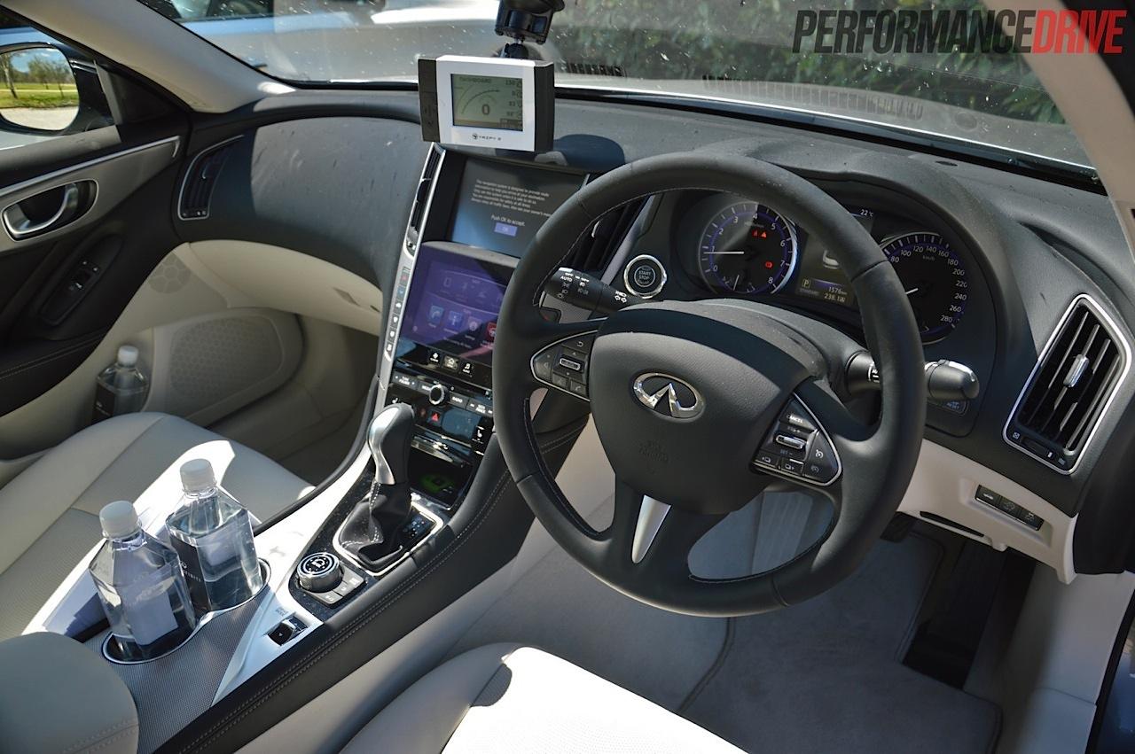 2014 Infiniti Q50 Review Australian Launch Performancedrive