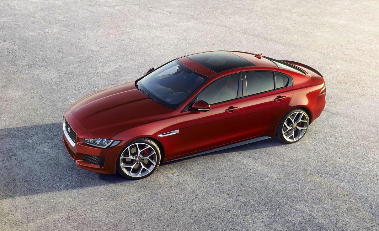 jaguar xe officially revealed allnew midsize sedan