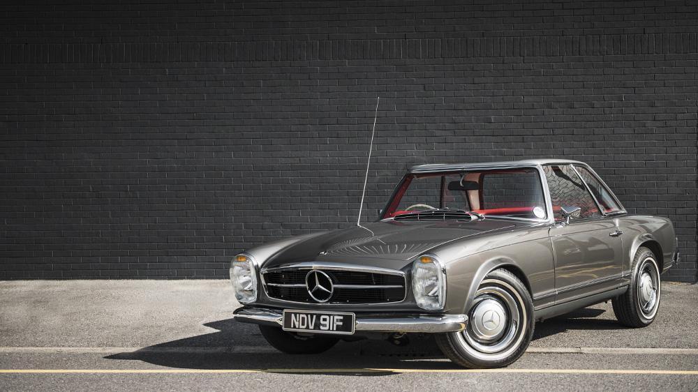 For sale perfect 1967 mercedes benz 250 sl performancedrive for Mercedes benz 250sl