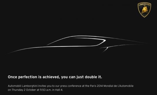 Lamborghini 2014 Paris concept