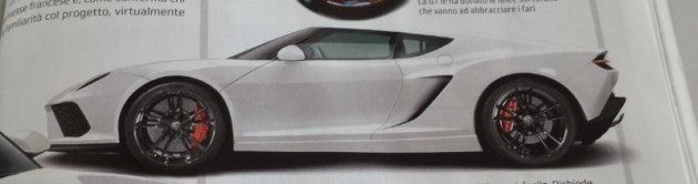 Lamborghini Asterion concept maybe-side