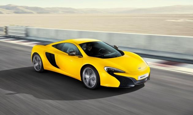McLaren 625C-yellow