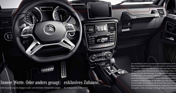 Mercedes-Benz G-Class 35 Edition-interior