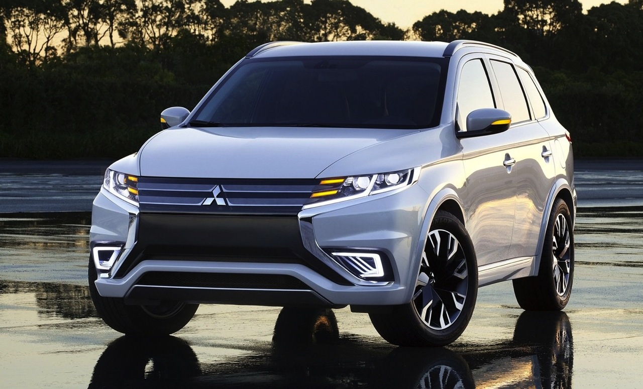 Mitsubishi Outlander PHEV Concept-S revealed ...