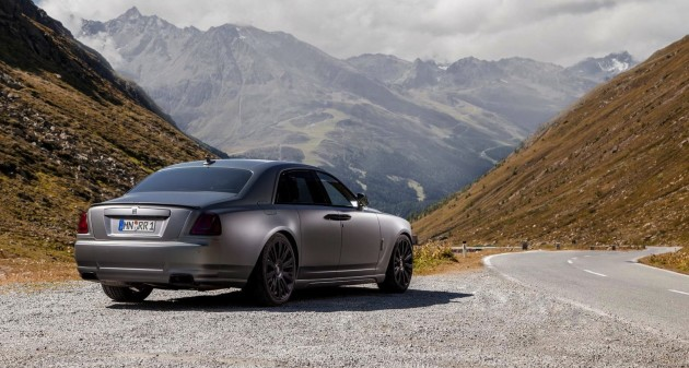 Novitec Rolls-Royce Ghost-rear