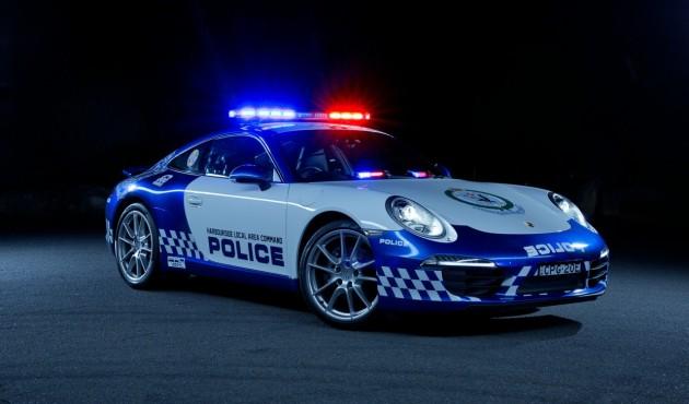 Porsche 911 NSW police car