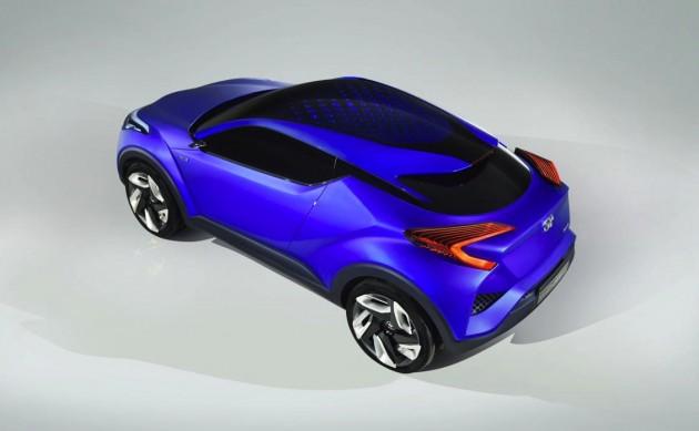 Toyota C-HR concept roof
