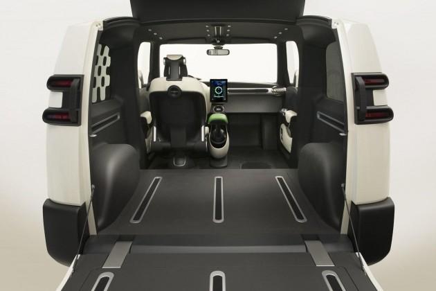 Toyota Urban Utility concept-cargo area