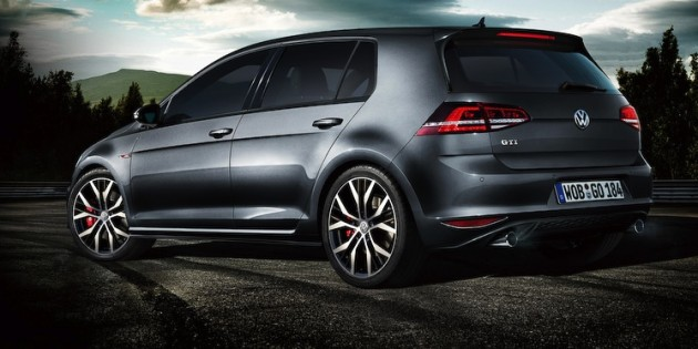 Volkswagen Japan Golf GTI 40th anniversary edition rear