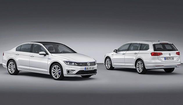Volkswagen Passat GTE range