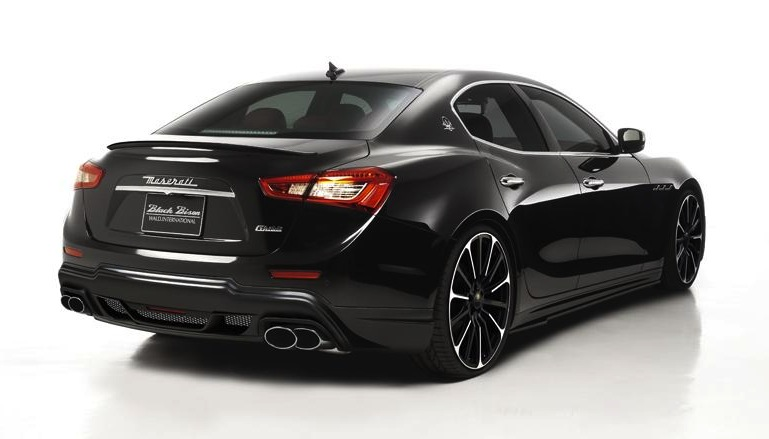 Wald announces stealthy Black Bison kit for Maserati ...
