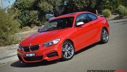 2014 BMW M235i-Melbourne Red