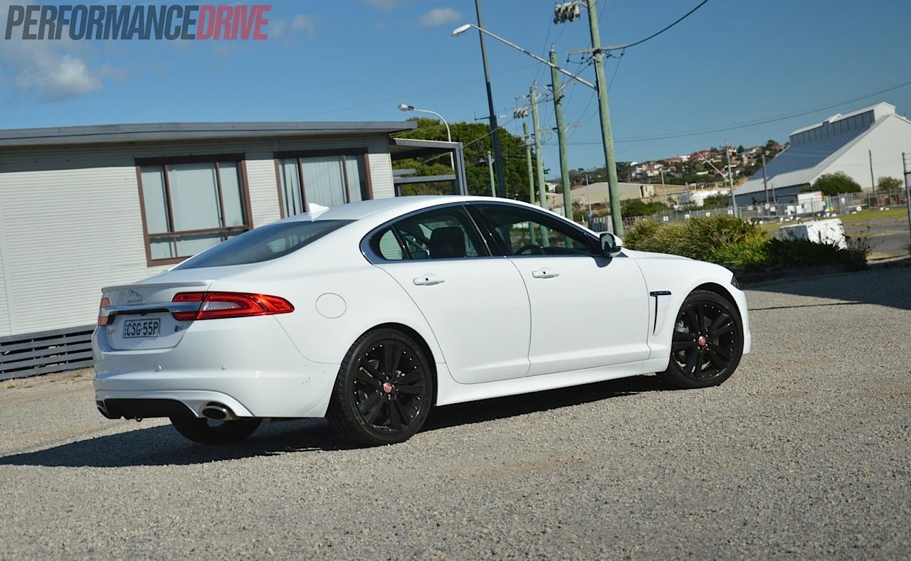 2014 Jaguar XF S Luxury 30DTT review video  PerformanceDrive