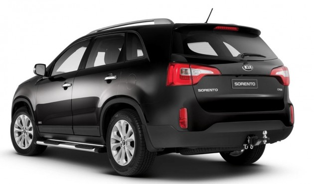 2014 Kia Sorento Family Pack-rear