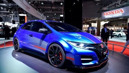 2014 Paris Motor Show-Honda Civic Type R Concept