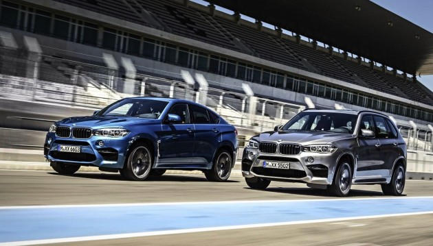 2015 BMW X5 M and X6 M