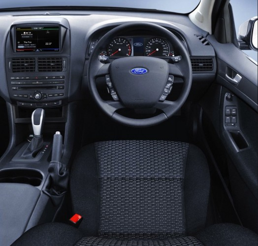 2015 Ford Falcon interior