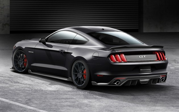 2015 Ford Mustang Hennessey rear
