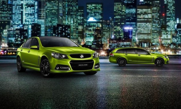2015 Holden VF Commodore SS V Redline-Jungle Green