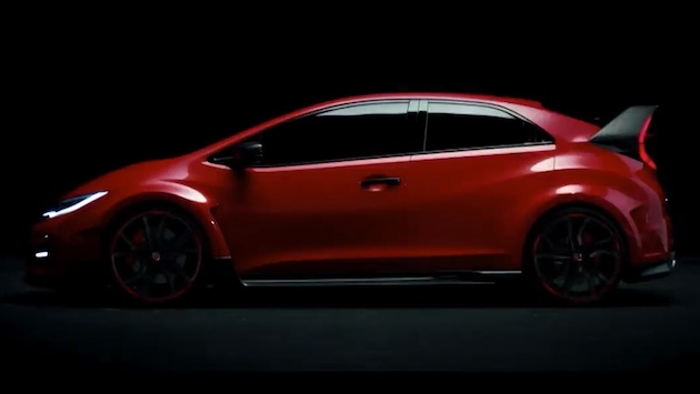 2015 Honda Civic Type R video reveal